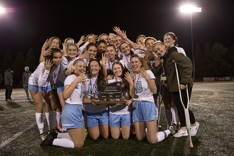 Aardvarks FOUR the Win: Girls' Varsity Soccer Succeeds at State