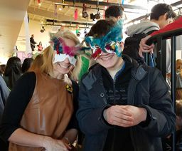 Raucous Celebration, Then Reflection: Mardi Gras and Ash Wednesday at OES