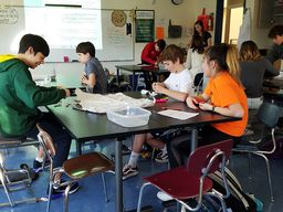 "Eighth Grade Scientists Farm to ""Feed the Vedder Beast"""