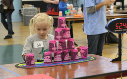 OES Hosts Regional Sport Stacking Tournament