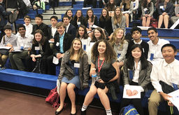 OESians Showcase Poise and Preparation at Model United Nations