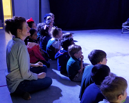Upper School Actors Perform for Kindergartners