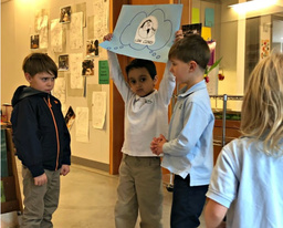 Lower Schoolers Learn to Solve Social Dilemmas Together