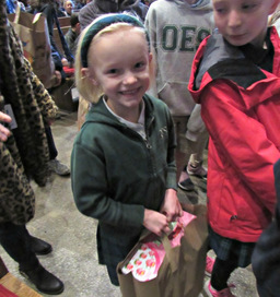 Lower Schoolers Give Back and Provide Service through Giving Chapel