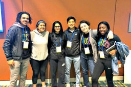 Upper Schoolers Represent at Diversity and Leadership Conference